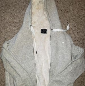 Abercrombie ZIP HOODED JACKET size XL